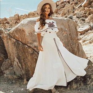 NWT Raga Tessi Maxi Dress